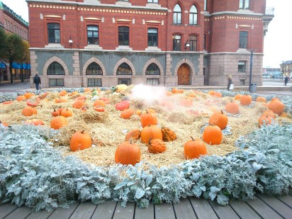 Halloween feeling, even if Swedes are not that keen on celebrating it.
