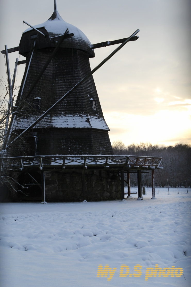 Old mill in Fredriksdals park