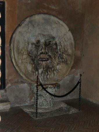 Bocca della Verità the mouth of truth