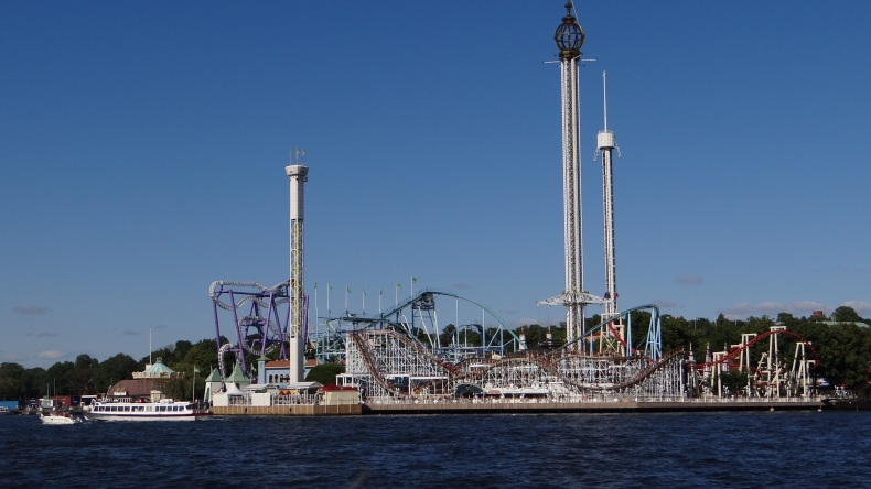 Gröna Lund - the amusement park