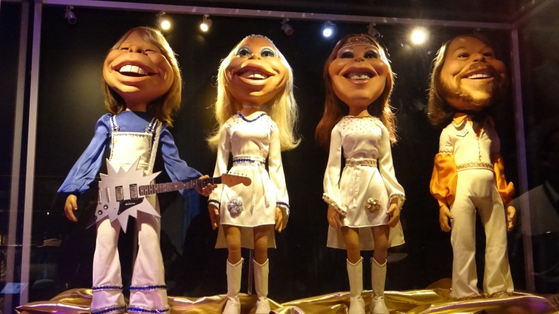 Dolls of ABBA members