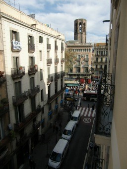 Our Hotel was very close to the La Ramba, the famous walking street.