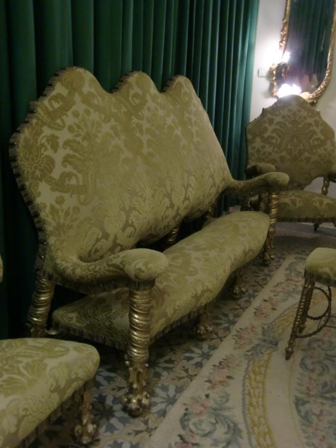 Furniture from Antoni Gaudi