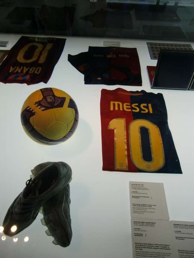 Messi's soccer gears