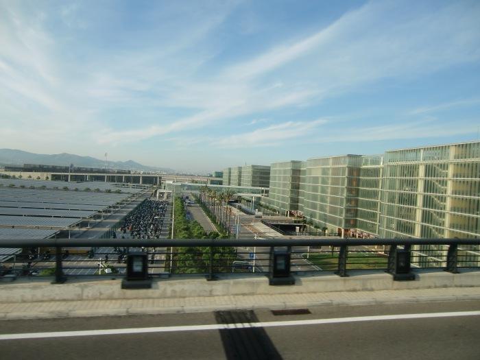 Airport in Barcelona