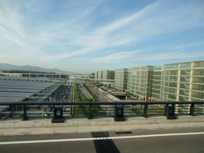 Airport in Barcelona