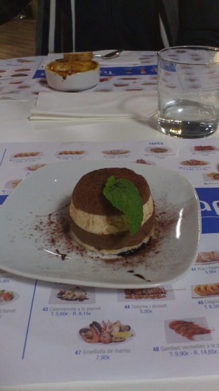 One of the tapas dessert i tried