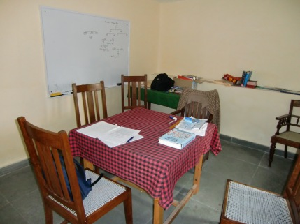 One of the classrooms at Landour Language School