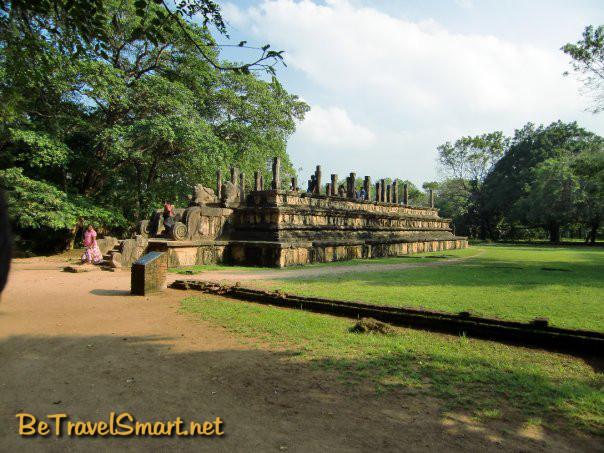 Ruins in Polonnaruwa