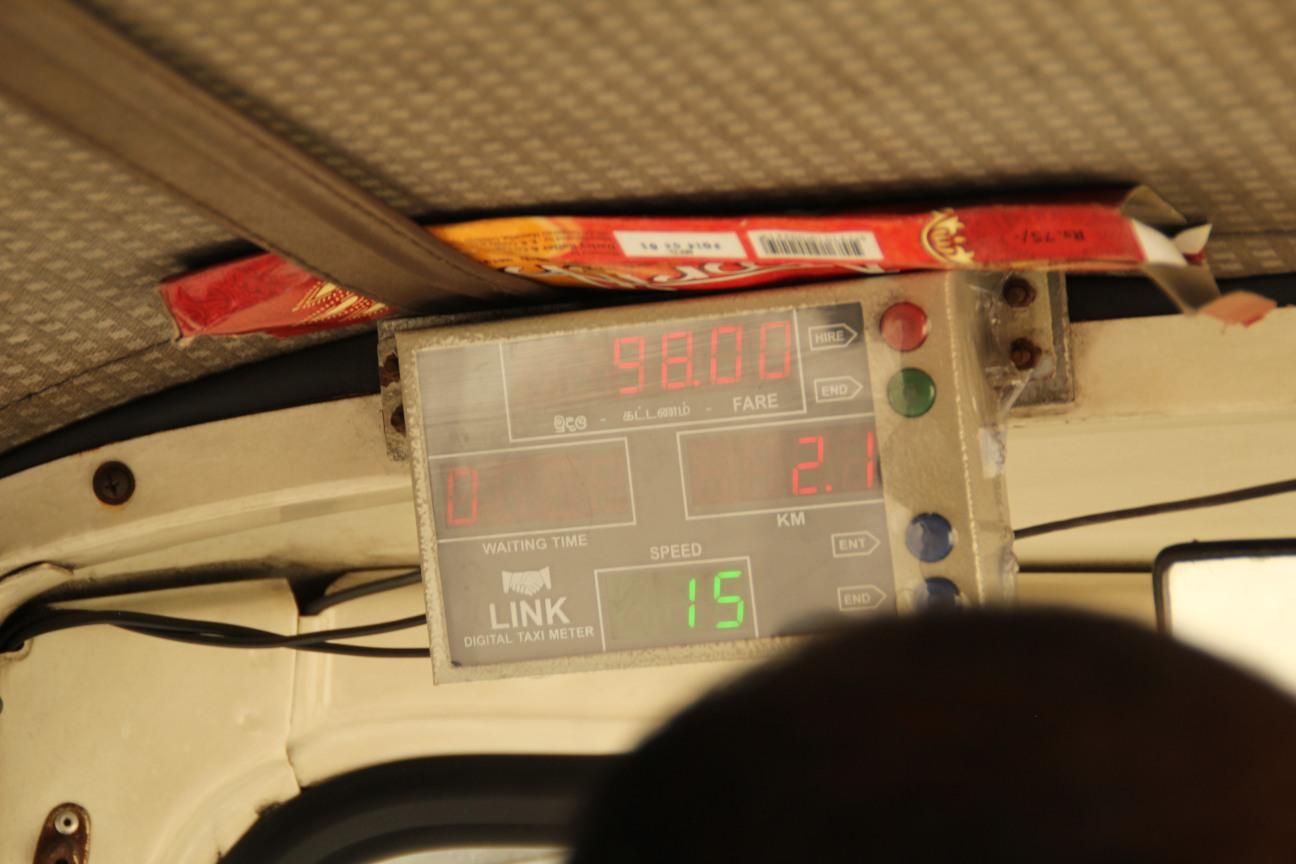 Meter taxi
