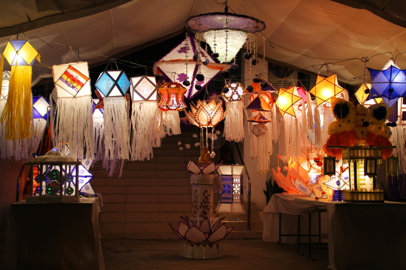 Lovely light decorations