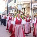 Swedish folk dancers